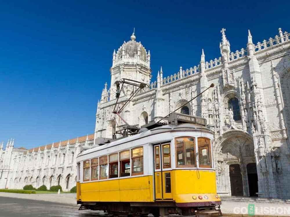 Лиссабон желтый трамвай