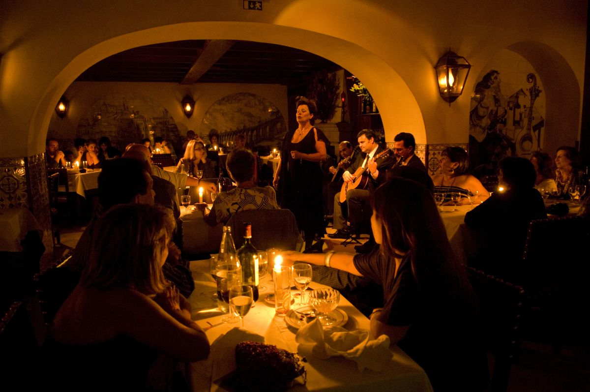 Spectacle de fado en direct et dîner